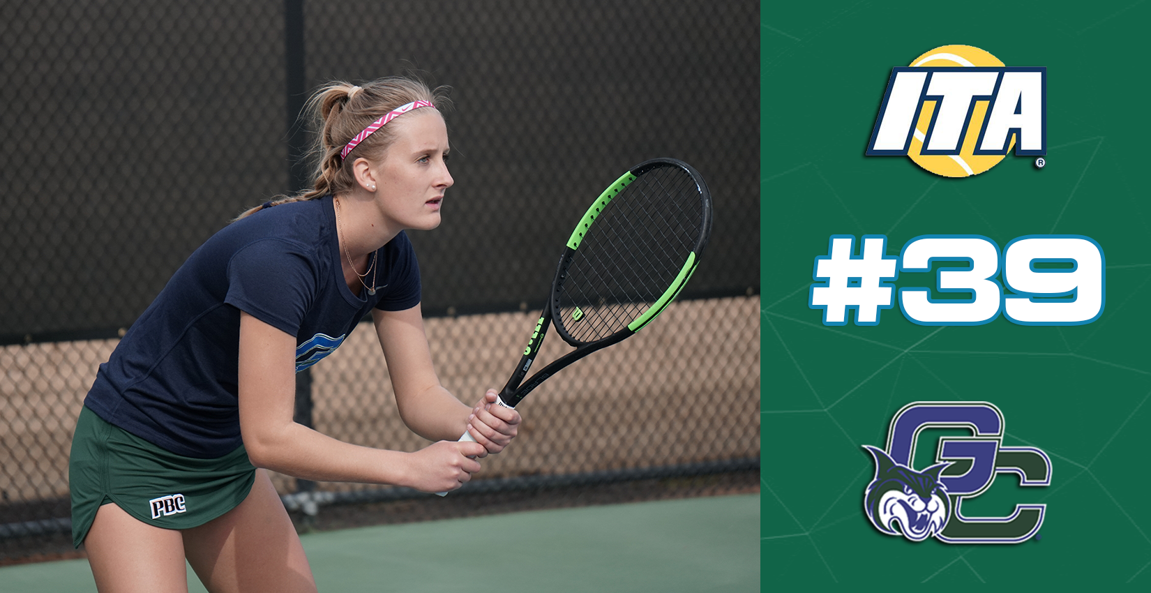 GC Women's Tennis Moves Up in National Rankings