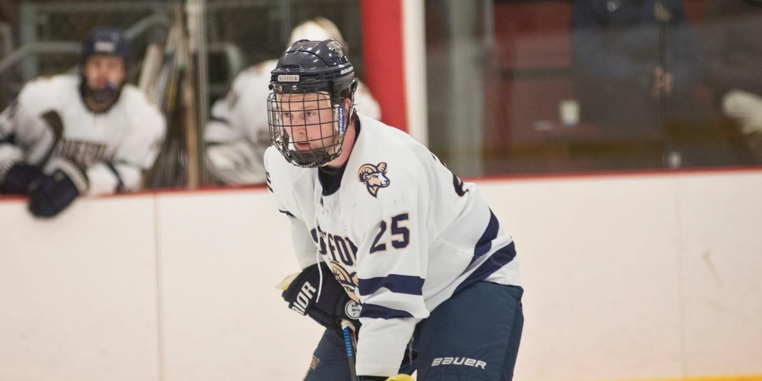 Men's Hockey Looks to Sweep Series with WNE in Rematch Saturday