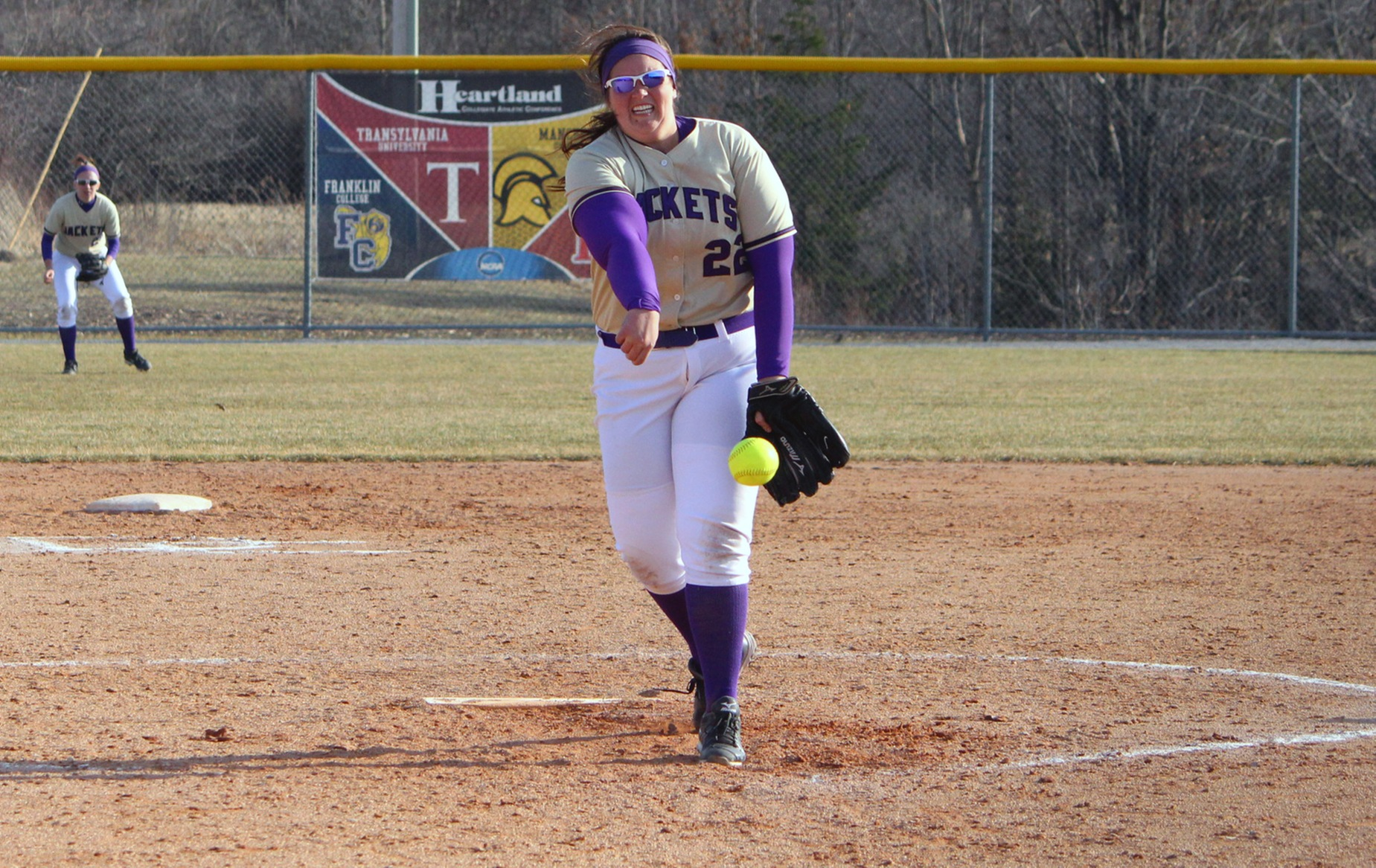 DC splits with Denison in Sunday doubleheader