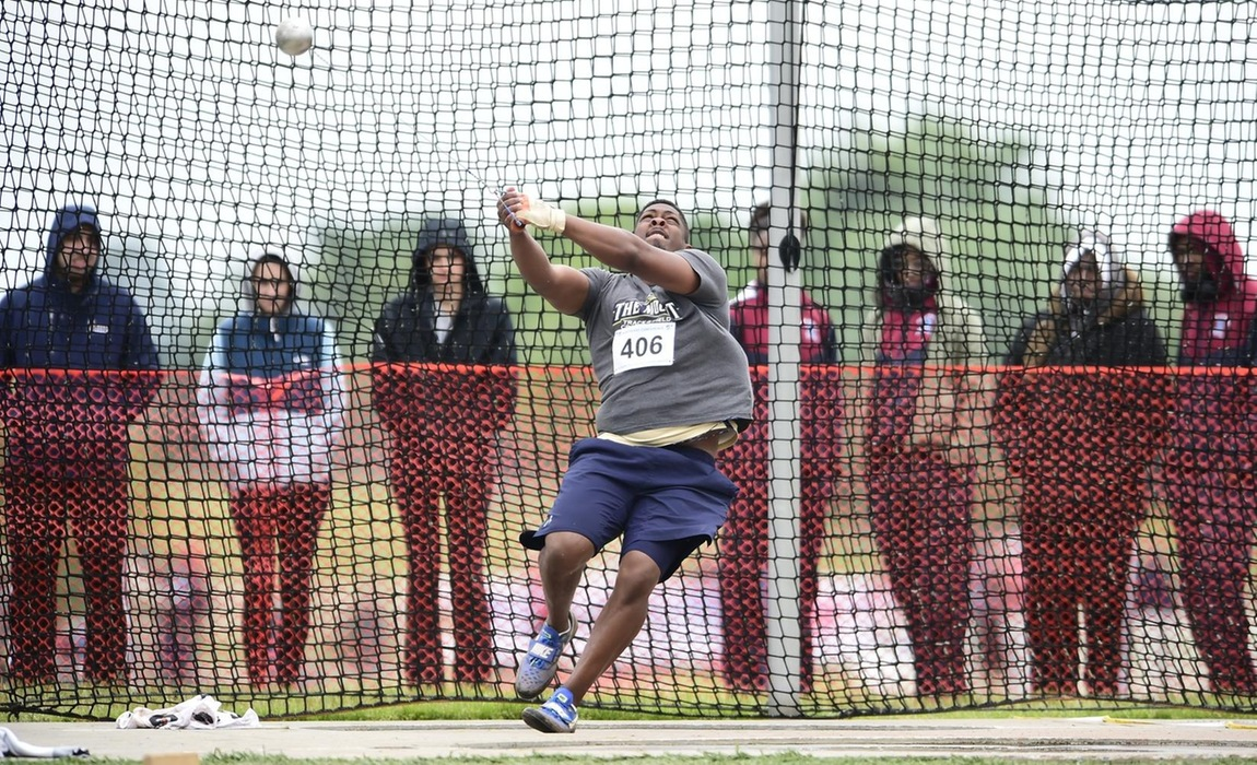 Brenden Chavis Breaks School Record in Hammer Throw; Moriah Fitzgerald and Nicolas Fransham Earn All-East Honors on Saturday at IC4A/ECAC Championships