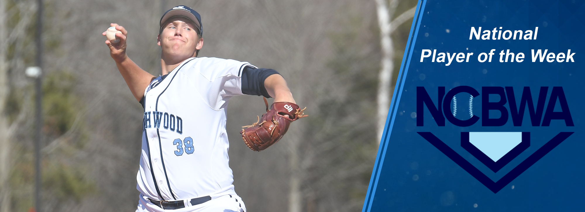 Northwood's Bain is named NCBWA National Pitcher of the Week