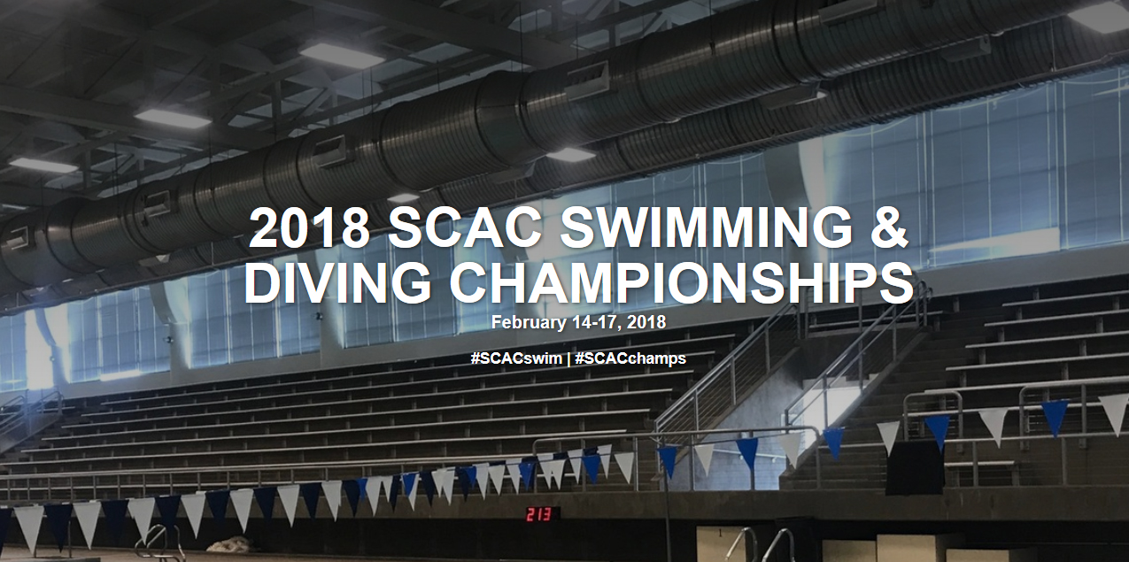SCAC Swimming & Diving Championship Website Released