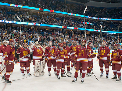 FSU Hockey Ends Year Ranked Second In Polls