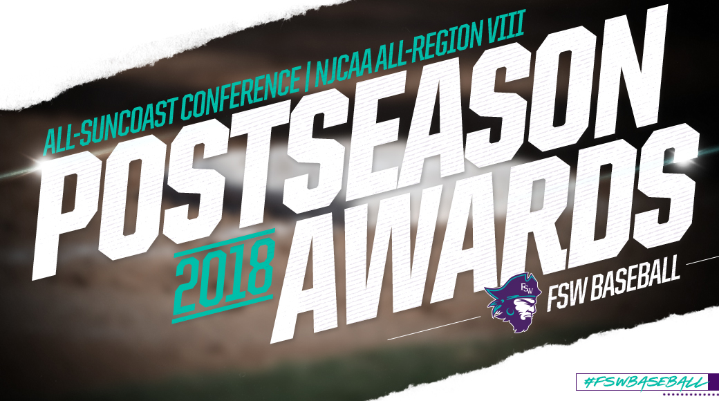 #FSWBaseball Trio Picks Up Postseason Honors