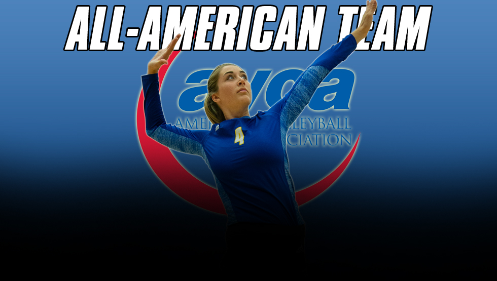 Ruddins Recognized as AVCA All-American for Third Straight Season