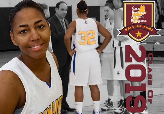 FORMER WOMEN'S HOOPS STAR IMAN (DAVIS) BARBOSA TO BE INDUCTED INTO GNAC HALL OF FAME