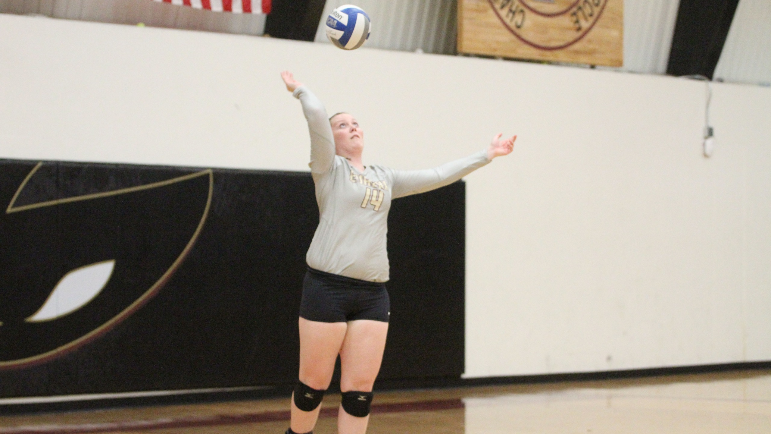 EC Volleyball Comes Up Short at Blackburn, 3-0