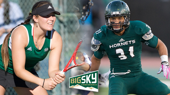 LOHSCHEIDT AND WILLIAMS EARN BIG SKY SCHOLAR ATHLETE AWARDS