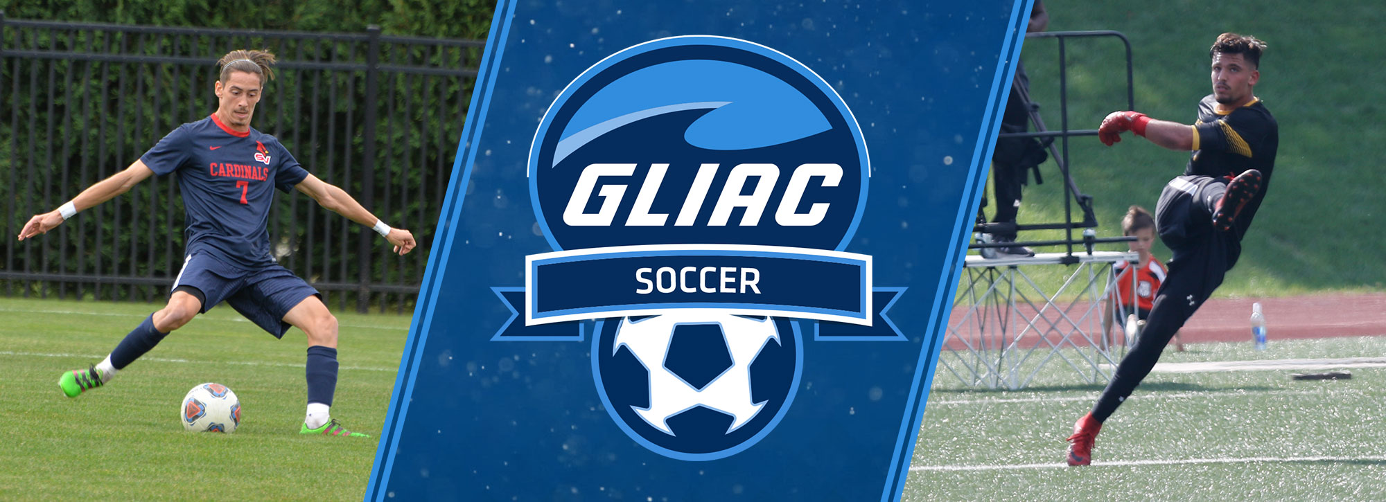 Saginaw Valley's Hamilton, Ashland's Karousos Selected GLIAC Men's Soccer Players of the Week