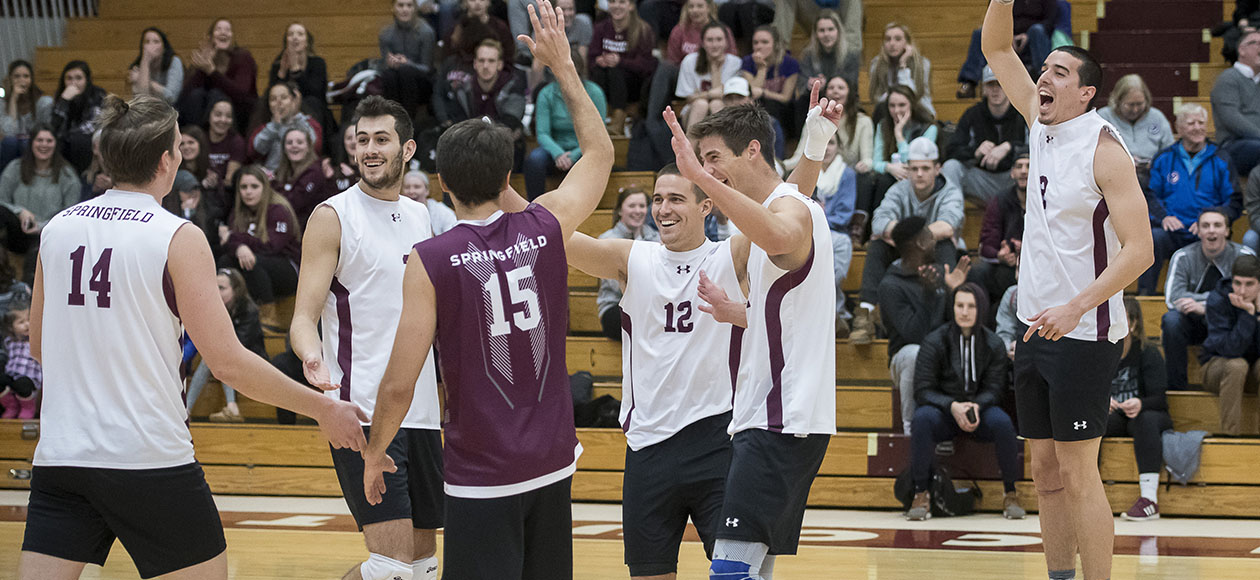 Men's Volleyball Earns Victories over Ramapo and MIT in Regular Season Home Finale