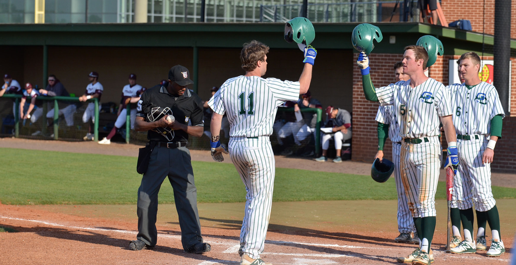 GC Baseball Secures Weekend Sweep with Two Afternoon Victories over Philadelphia