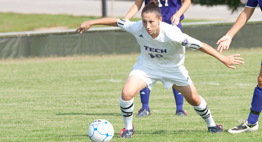 Fans can follow weekend soccer action as Tech travels to Belmont, UNC Asheville