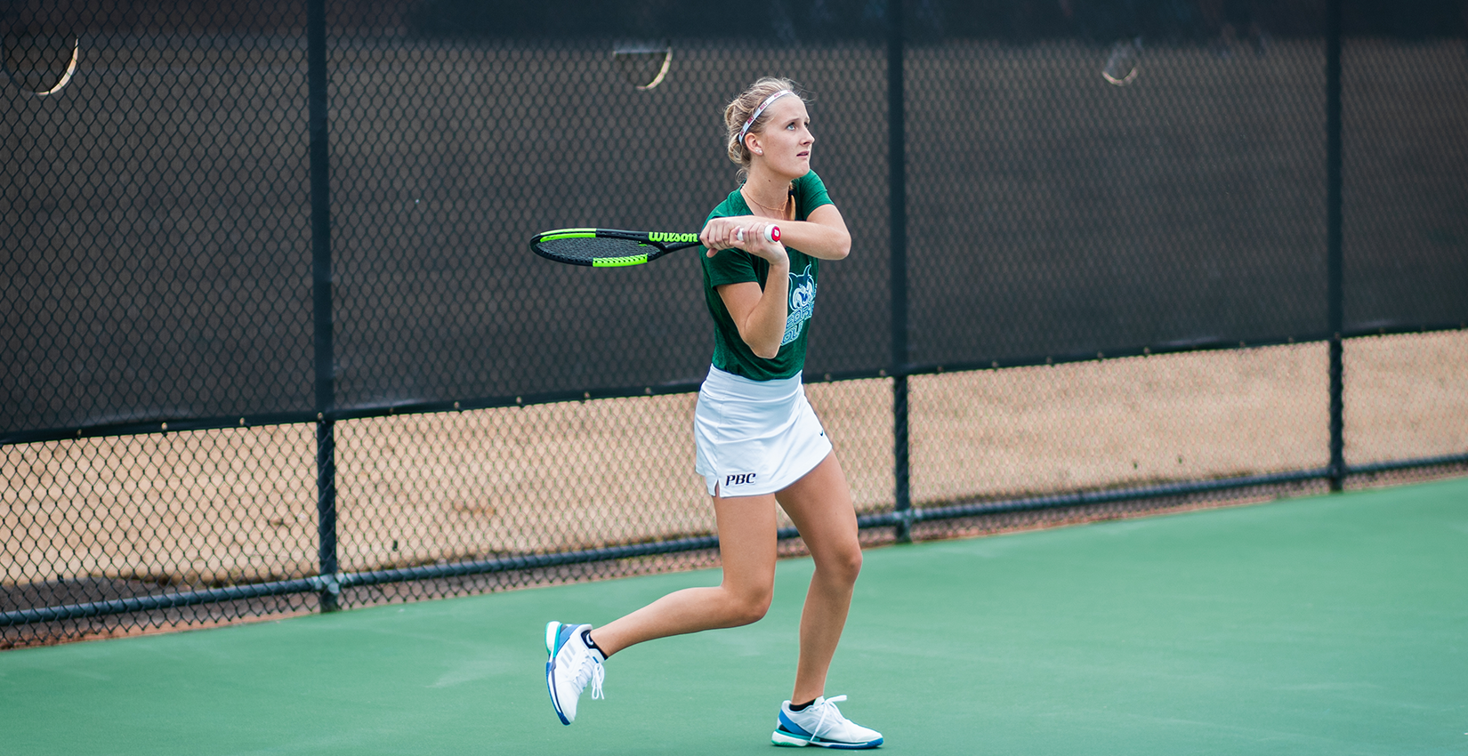 #25 Bobcat Women's Tennis Sweeps Singles, Defeats Brenau at Home, 6-1