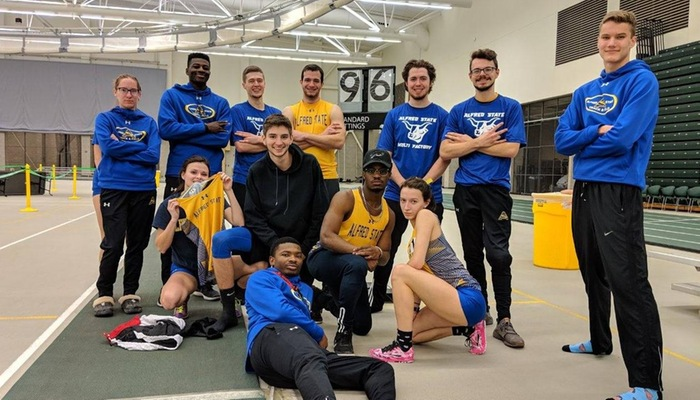Multi athletes poise after day one of the Brockport Multi