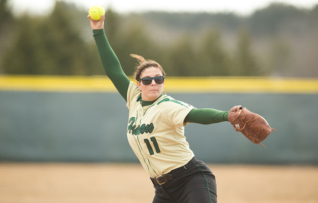 Husson Softball Splits Day Two in Florida