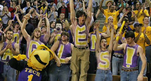 Tech Students: Four free tickets for Thursday's games for family, friends