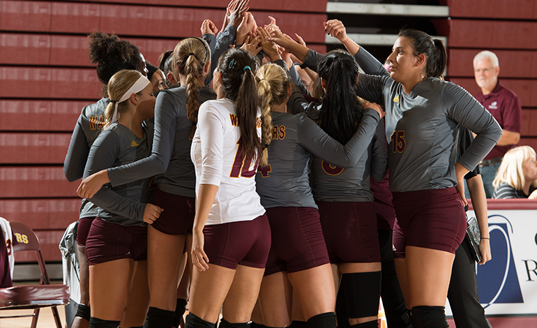 Volleyball Impressive in Sweep at Tyler Invite