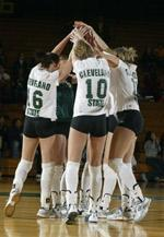Volleyball Hosts Pair Of In-State Foes