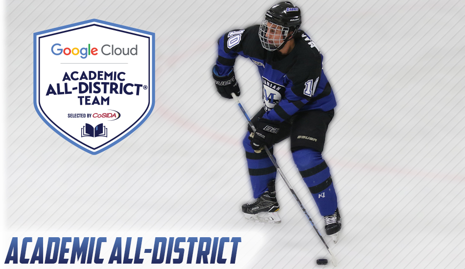 Gianni Mangone Academic All-District graphic.