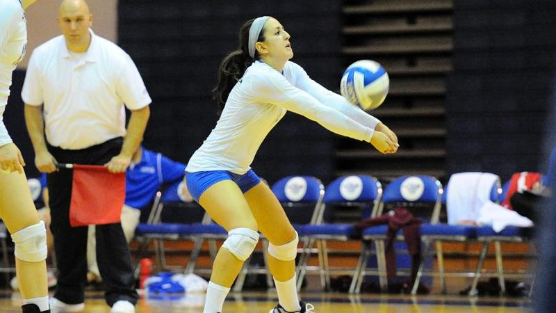 Volleyball Falls to LIU Brooklyn in Three