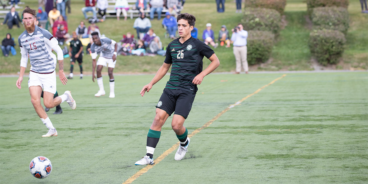 Men's Soccer Drops Defensive Battle with Wentworth, 1-0