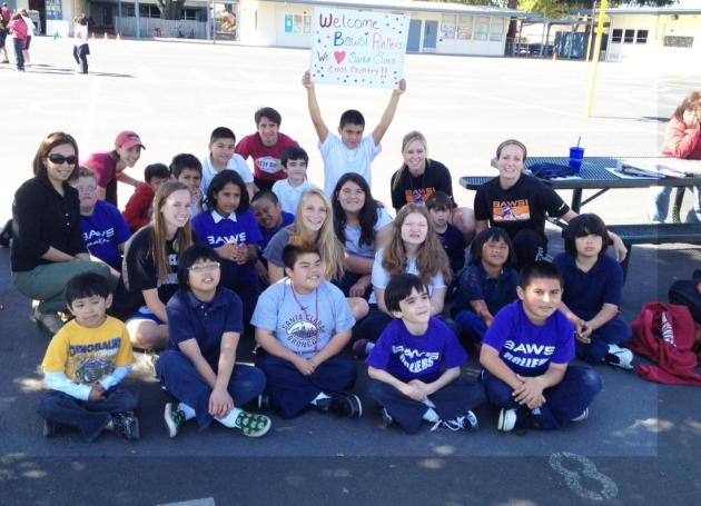Bronco Track/Cross Country Lends A Hand to BAWSI Rollers Program