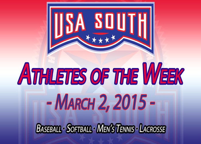 Freeman and Gonzalez earn USA South honors for second straight week