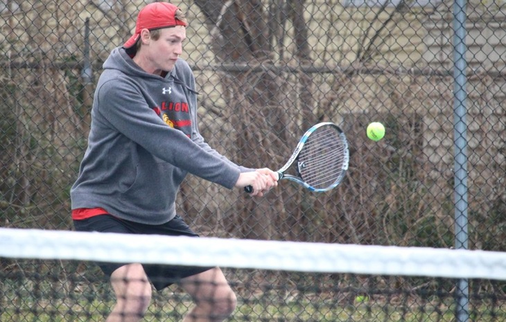 Men's Tennis Blanks Western New England to Close Out CCC Slate