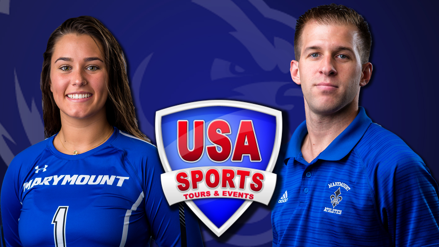Viniard, Liberto represent Marymount on USA Division III Volleyball Teams Brazil Tour 2019