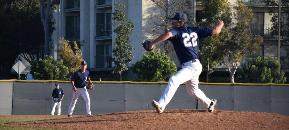 Baseball team gets tripped up in ninth against San Diego City
