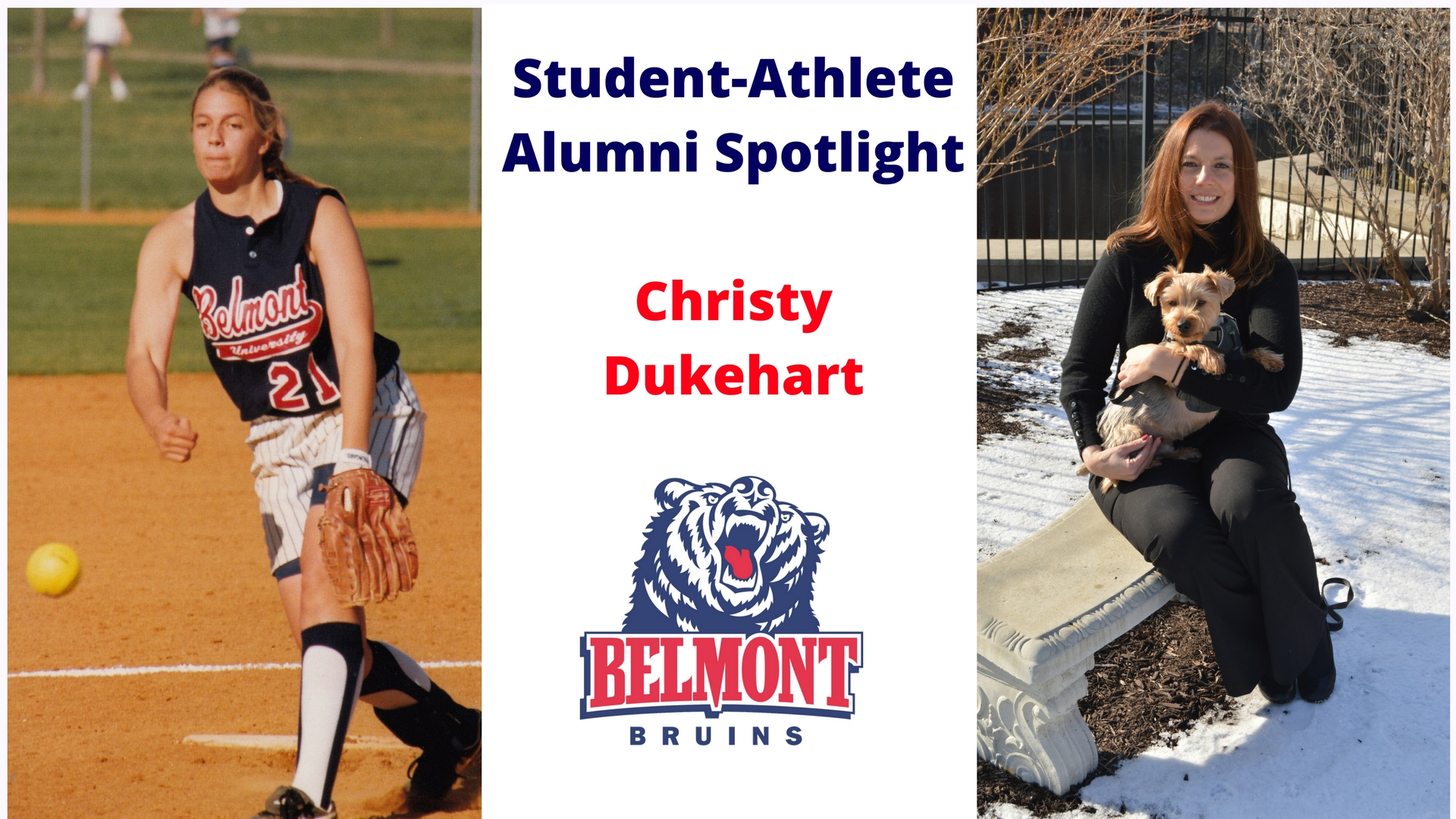 Student-Athlete Alumni Spotlight -- Christy Dukehart