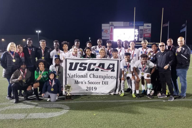 Berkeley College Claims USCAA Division II Men's Soccer National Championship