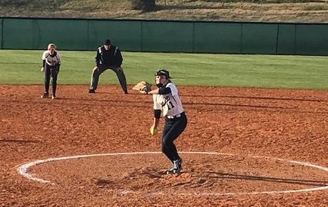 Lions Take Loss to Mitchell in Softball