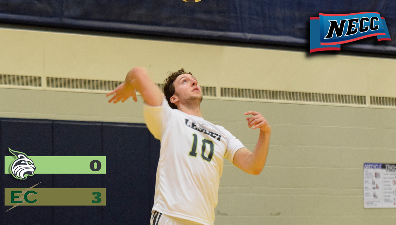 Men's Volleyball Falls to Blazers in Three Sets