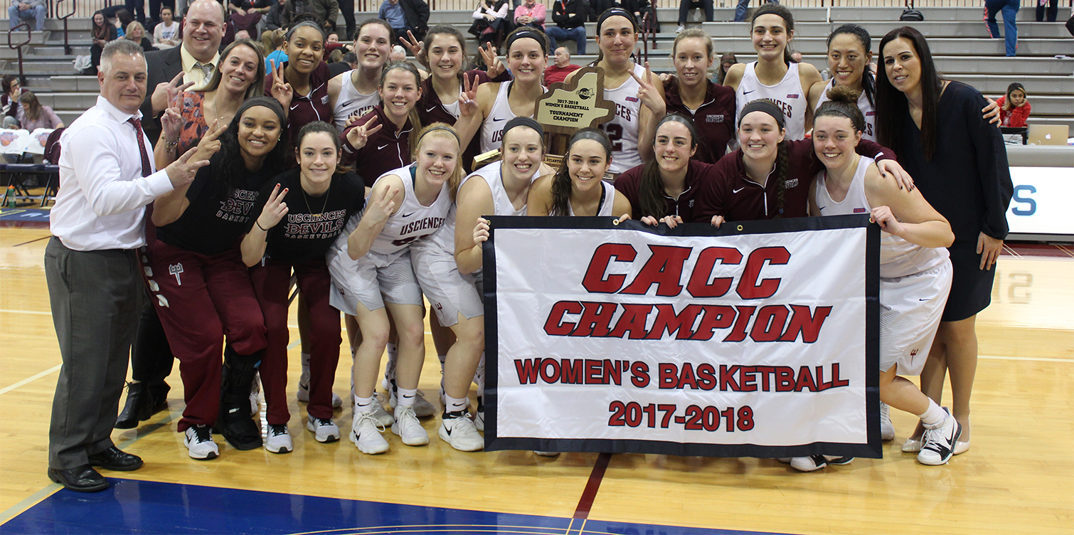 No. 19 University of the Sciences Holds Off Jefferson for Second Straight CACC Championship