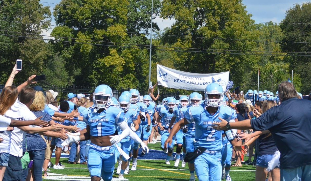 Westminster Football Wins Home Opener on New Field