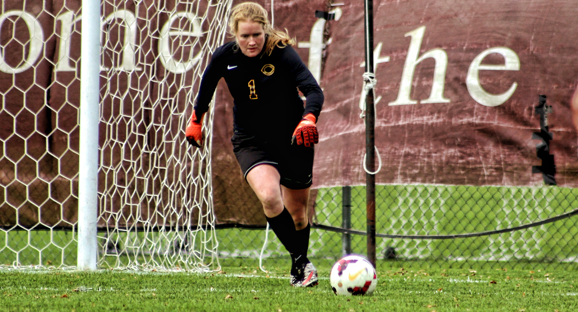Junior goalie Maddy Reed made four saves in the Cobbers' 0-0 double overtime tie with Alma.