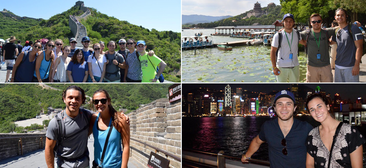 Endicott Student-Athletes Study Abroad In Asia