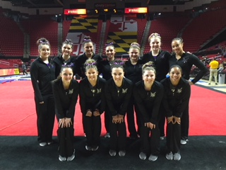 Women's Gymnastics Takes Fifth Place At University Of Maryland Meet
