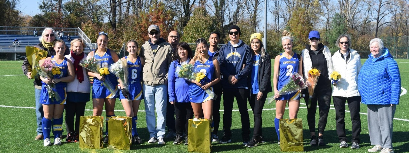 Goucher Field Hockey Sees Moravian Spoil Senior Day In Double-Overtime Thriller