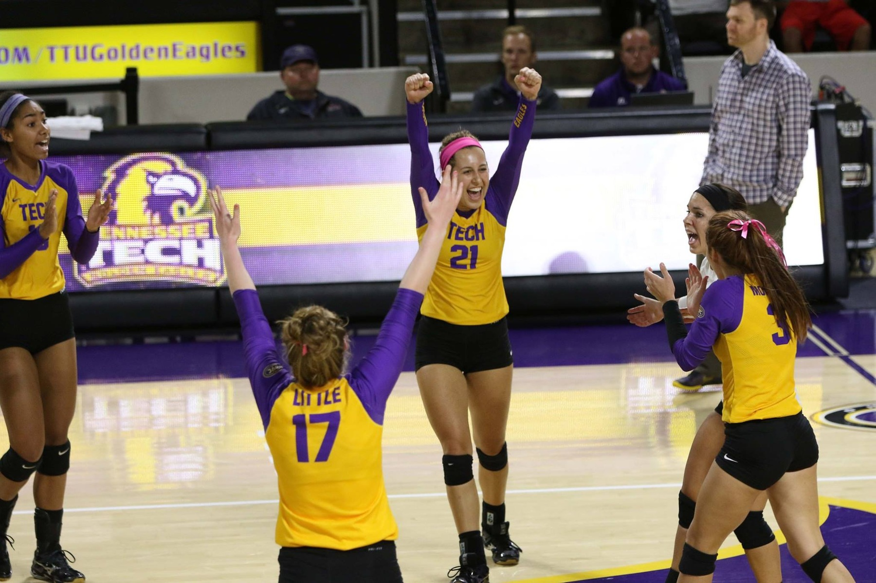 Volleyball ends nonconference schedule at Toledo's Blue/Gold Invitational