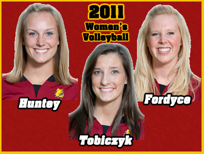 Bulldog Trio To Captain 2011 Women's Volleyball Team