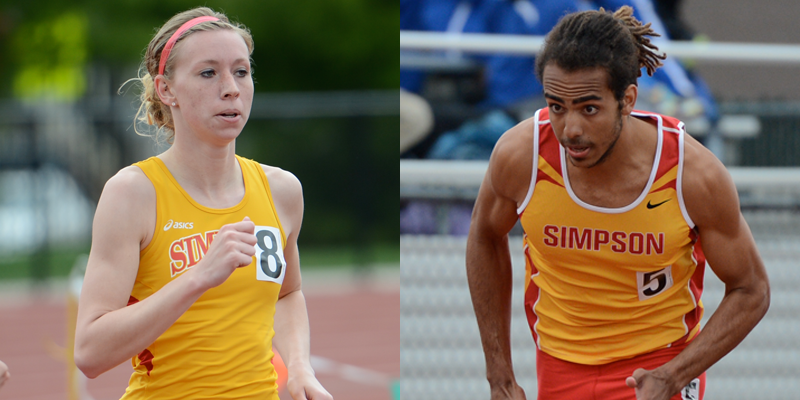 Women 5th, Men 8th after first day of IIAC Championships