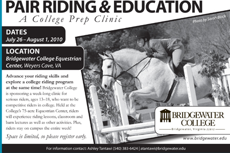 Equestrian Program Will Host Summer Riding Clinic