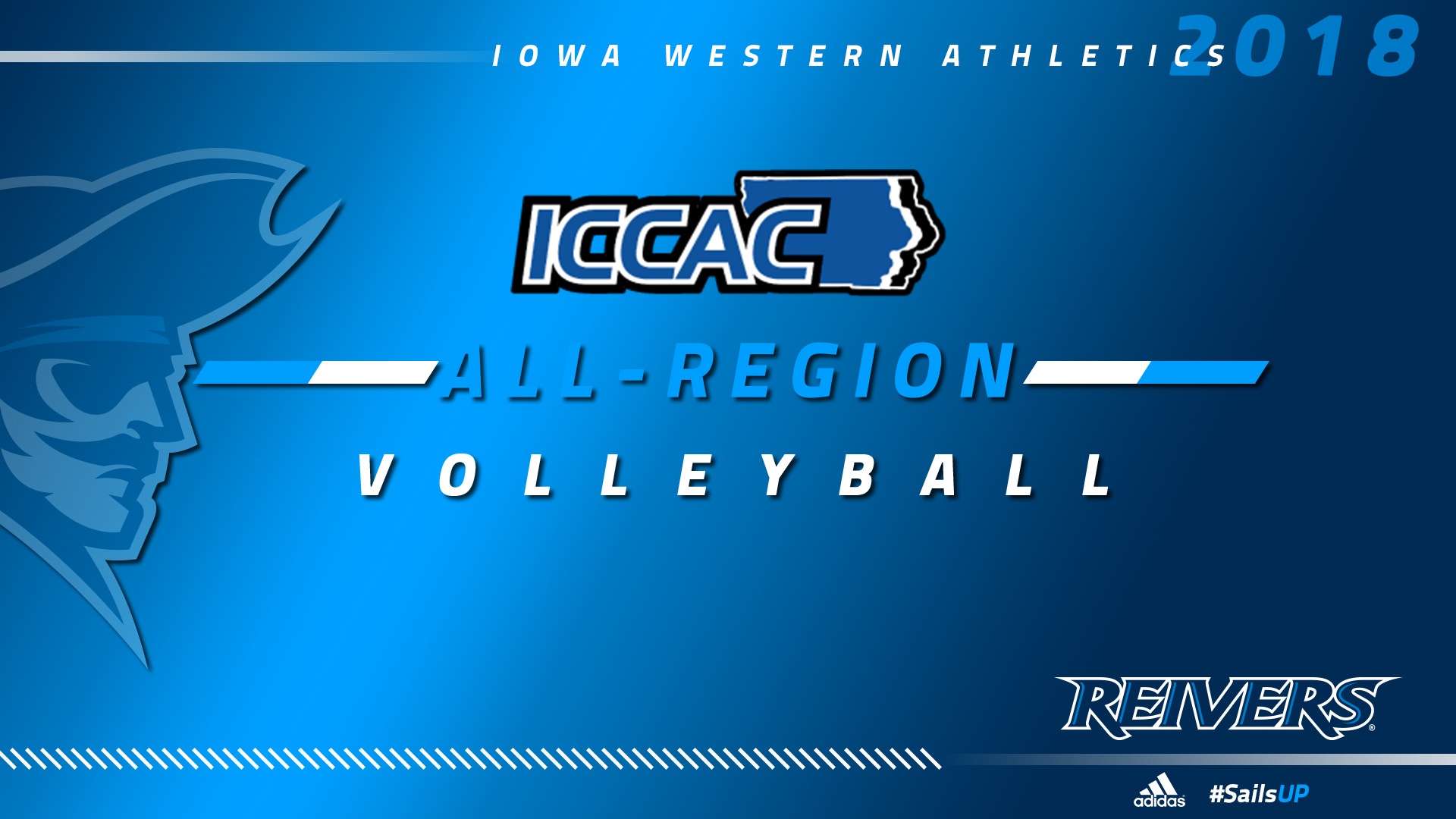 4 Reivers named ICCAC D1 All-Region Team, also snag Coach & Player of the Year honors.