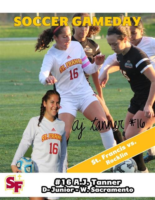 Get to Know: Soccer's #16 A.J. Tanner