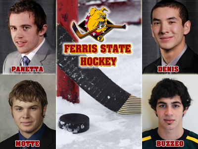 Ferris State Hockey Announces Four Signees During NLI Signing Period