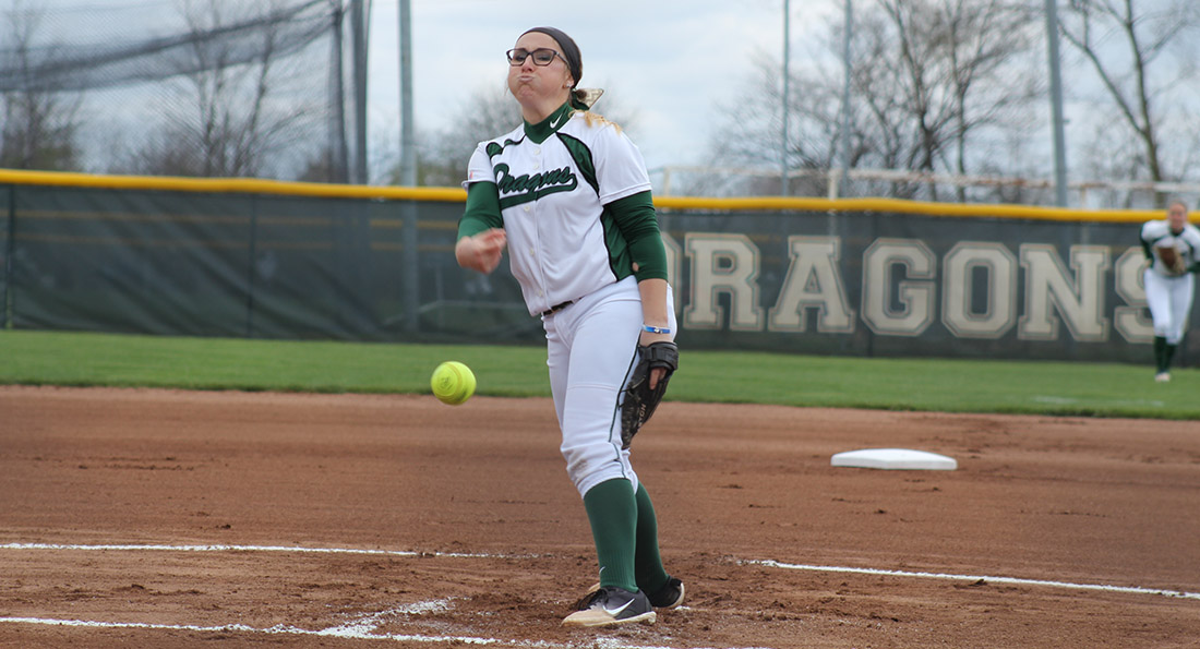 Kimmy Reynolds tossed a 5-hit victory against Northwood.