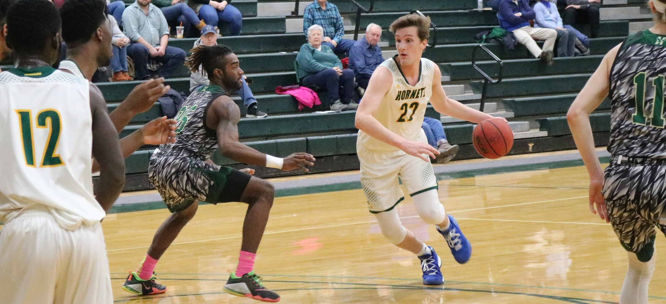 Hornet men struggle to score in loss to Husson