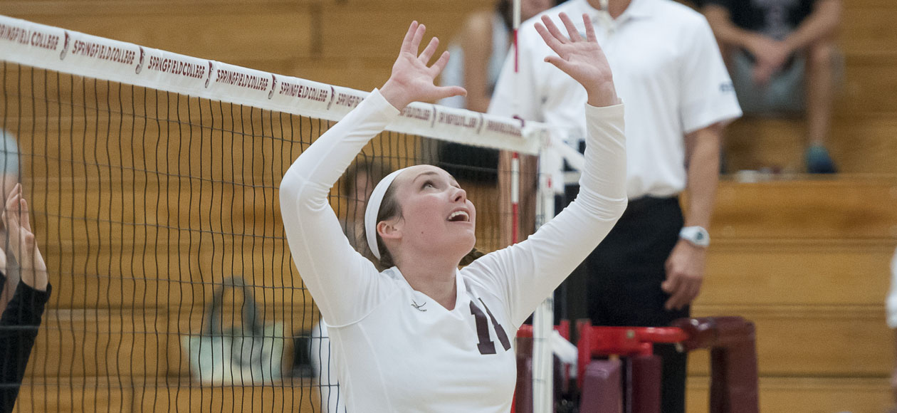 Women's Volleyball Responds With Sweep Over Babson